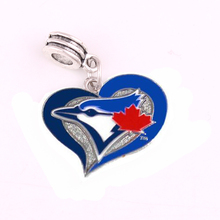 Toronto Blue Jays Warriors San Francisco Giants Kansas City Royals Beads Charms fit Bracelet or bangle pendant