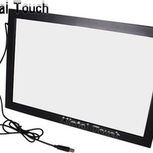 Gratis Verzending! Xintai Touch 32 inch USB IR Multi touch screen overlay; 10 punten Infrarood multi touch screen frame voor LED TV(China)