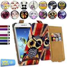 "For Jiayu G4 4.7"" Universal High Quality Printed Flip PU Leather For Jiayu G4 Cell Phones Case Cover"