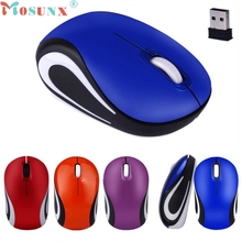 Mosunx Cute Mini 2.4 GHz Wireless Optical computer mouse wireless For PC Laptop Notebook 0106