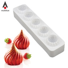 Wulekue 1PCS Silicone 3D RUSSIAN TALE Mold Cake Decorating Baking Tools For Chocolate Truffle Mousse Moulds Pastry Art