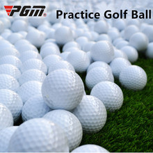 PGM Free shipping 1pcs Outdoor Practice Golf Balls Training Aid Double-deck Golf Balls