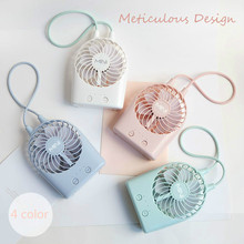 New usb rechargeable mini fan 2017 summer desktop 3 files electric small fan portable handheld fan