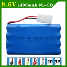 9.6V 1400mAh Remote Control Toy Battery electric toy lighting electric tools AA batteries(China)
