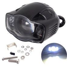Motorcycle 20W LED Headlight with USB Charge Function Spotlight Fog Light For Honda Haley Yamaha KTM Scooter Headlamp Led Lamp