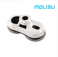 MOLISU Auto clean anti-falling smart window glass cleaner smart phone control remote control robot vacuum cleaner Free Shipping