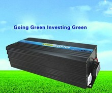 British Socket Big Power Inverter 6000w 12v to 240v, Off Grid Wind Power Inverter(China)