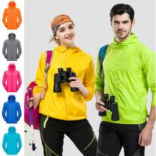 New Unisex Men Women Raincoat Hiking Travel Waterproof Windproof Jacket Outdoor Bicycle Sports Quick Dry Rain Coat Sunscreen