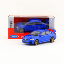 1:36 Diecast Models Impreza WRX STI Model Toys model cars Alloy Car Diecast Metal Pull Back Car Toy For Gift Collection(China)