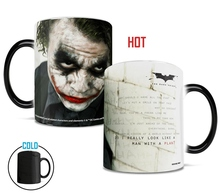 the Dark Knight Joker cups and Mugs change color magic mug Color Changing Mugs coffee tea cup best gift for your friends(China)