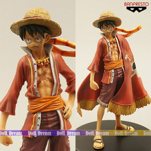 17cm Japanese anime figure one piece luffy action figure kids toys for boys girls collection toys(China)