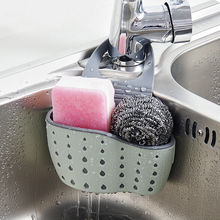 Babelin Useful Suction Cup Sink Shelf Soap Sponge Drain Rack Kitchen Sucker Storage Tool(China)