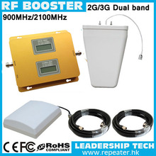 GSM/UMTS TD-SCDMA HSDPA WCDMA Repeater 900mhz/2100mhz 3G LCD cell/mobile phone repeater booster detector repetidor amplifier