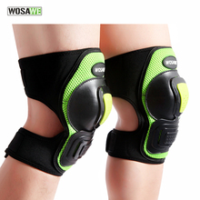 WOSAWE 1 Pair Knee Pads Guard Roller Ski Snowboard Skating Thicken Elbow Protector Brace Protection Gear Knee Pads Sports Safety