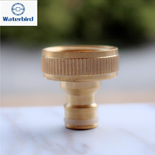 1 inch Female Hose End Adapter Quick Couling Tap Connector Water Irrigation Garden Micro Irrigation X136(China)