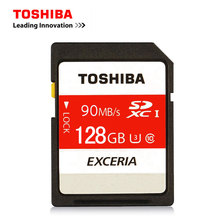 TOSHIBA SD Card 16G U1 32GB SDHC 64GB 128GB SDXC U3 Class 10 Memory Card For 1080p full-HD 3D 4K video DSLR Camera HD camcorder