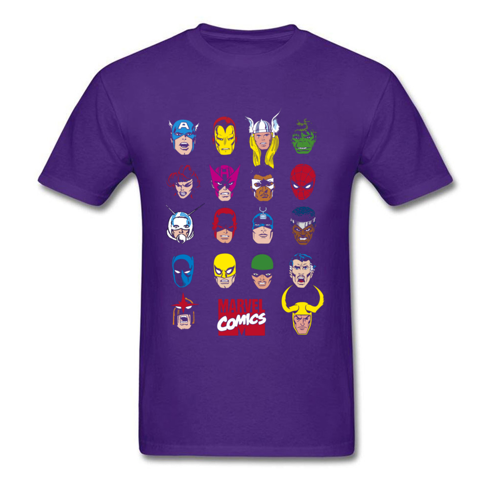 Marvel Comics Character Highlights_purple