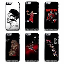 Derrick Rose Basketball Star Cover Case for Samsung Galaxy S4 S5 S6 S7 S8 Edge Plus Note 2 3 4 5 8 j2 j5 j7 Grand Neo Core Prime(China)