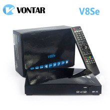 5pcs Original  V8Se Digital Satellite Receiver AV HDMI Output with USB Wifi WEB TV Biss Key 2xUSB CCCAMD NEWCAMD