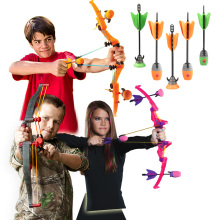 Zing Air Storm Z-Curve Bow Soft Suction Cup Arrows,Children Kids Outdoor Sport Toys Bow & Arrow With Refills Whistle 3 Arrows