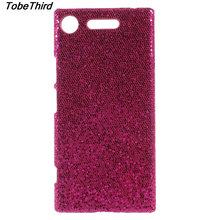Buy Sony Xperia XZ1 Case Glittery Sequins PU Leather Coated Hard Cell Phone Cover Case Sony Xperia XZ1 for $4.24 in AliExpress store
