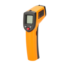 GM320 Non-Contact 12:1 Digital Infrared IR Thermometer Laser Temperature Gun Tester Range -50~380C with LCD Backlight