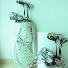 New womens Maruman FL complete clubs set Drive+fairway wood+irons Graphite Golf shaft and headcover Golf Clubs Free shipping