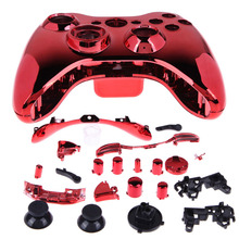 Controller Case Wireless Controller Case Shell Cover Button for XBOX 360 Red L3EF