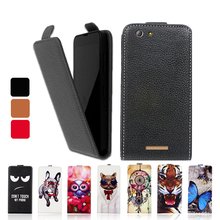 Fashion Cartoon Luxury PU Leather Flip Case UP and Down Cover Special phone case for Highscreen Bay