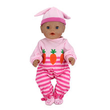 Radishes clothes+hat Wear fit 43cm Baby Born zapf, Children best Birthday Gift(only sell clothes)(China)