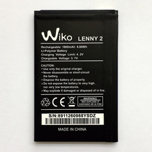 New Original Battery For Wiko Lenny 2 3.7V 1800mAh High Quality Phone Rechargeable Replacement Batteries Bateria Free Shipping