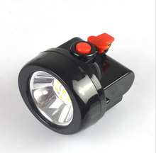 KL2.5LM 1W 4000Lx Rechargeable LED Cordless Mining Cap Light + Charger+ free shipping