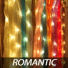Exclusive new high-grade pearl yarn curtain light Thailand decorative lights shop household event planning background color