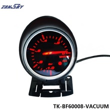 TANSKY - 60mm DF BF Gauge Car Performance Vacuum Meter Red and White Light For Ford Mustang 01-04 TK-BF60008-VACUUM