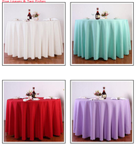 Hot Sale Hotel Tablecloth High Quality Restaurant Dining Wedding Table Cover Wave Edge Tablecloths Round Long Table Cloth