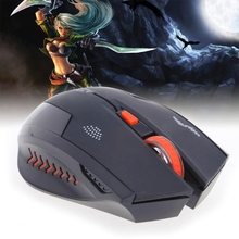 2.4GHz 2400DPI Wireless Silent Mute Button Gaming Mouse Integrated 4 Level Full Auto Key Setting Special Edition for Gaming