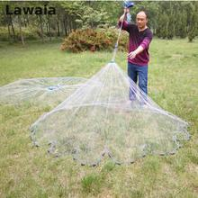 Lawaia Diameter 2.4- 7.2m Fishing Net 4.2m Fishing Network 3m Fishing Net American Hand Cast Net 7.2m Fishing Nets Or No Pendant