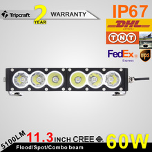 LOWEST PRICE ON ALIEXPRESS!!! Fresh 11.3 inch 60W spot flood combo Beam work driving led light bar for Offroad SUV ATV Wholesale