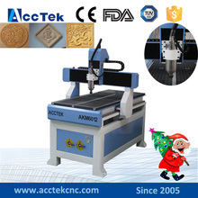 High speed cnc machine for wood/main door wood carving design machine 6012 6090 6040(China)