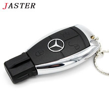 JASTER new benz  key car usb flash drive pendrive 4gb 8gb 16gb 32gb 64gb memory stick U disk USB 2.0 u disk thumb drive