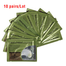 [20pcs/lot=10pairs=10bags]Anti-Wrinkle Crystal Collagen Eye Mask,Deck Out Women Crystal Eyelid Patch, Remove Black Eye Face Care(China)