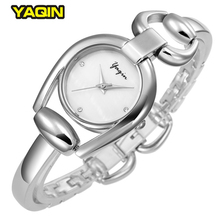 Fashion Brand Women Bracelet Watches Elegant Casual Specially Designed Dial Silver Simple Ladies Watch Relogio Feminino 2017