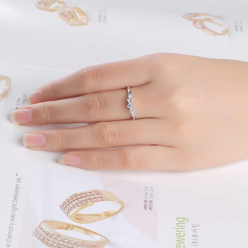 silver blue topaz ring for women  (9)