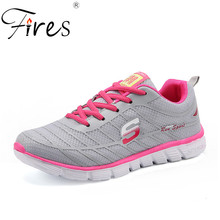 Buy Fires Women's Sneakers Breathable Running Shoes Female Sports Shoes Women Outdoor Zapatillas Mujer Summer Brand Walking Shoes for $16.07 in AliExpress store