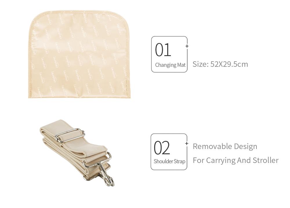 Waterproof Multifunctional Diaper Bag 13