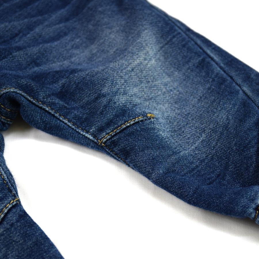 HSIN1609001-6Infant Baby Boys&Girls Jeans Newborn Kids Warm Denim Harem Pants New Born Bebe Pantalones Toddler Crawling Soft Leggings Winter