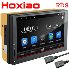 2 Din gps Android 6.0 Car DVD radio Player 1GB 16GB Quad core multimedia Double Din for kia Ford Nissan Toyota Volkswagen Mazda(China)