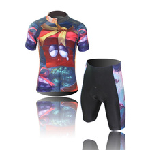 Free Shipping New High Quality Kids Cycling Bike Short Sleeve Clothing Bicycle XINTOWN Children Jersey Top CC0303