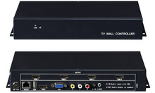 YD-TV22 Video Wall Controller HDMI VGA AV USB Processor2x2 images stitching image processor 4 TV shows a screen splicing