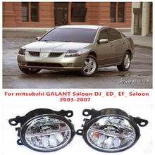 For mitsubshi GALANT Saloon DJ_ ED_ EF_ Saloon 2003-2007 Fog Lamps LED Car Styling 10W Yellow White 2016 new lights(China)